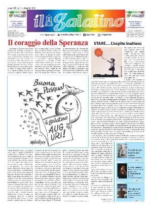 """STARE…L'ospite inatteso.                                                 da """"Il Galatino"""" Anno LIII – n.7 – 10 Aprile 2020"""