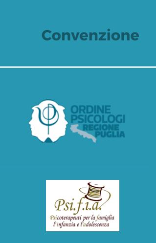 Convenzione con Ordine degli Psicologi della Regione Puglia