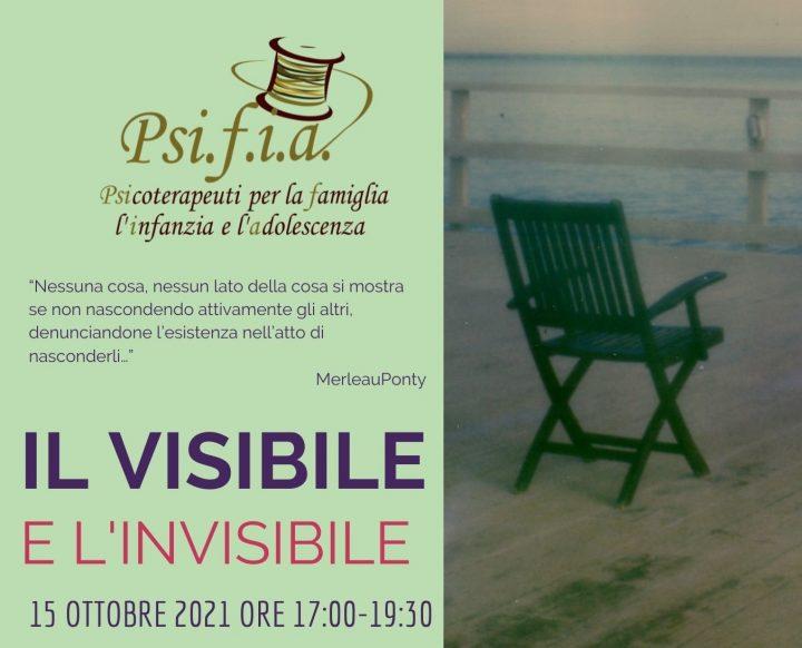 Seminario online: Il Visibile e l'invisibile – 15 Ottobre 2021
